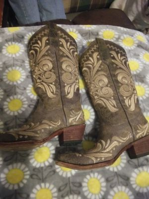 Circle G Embroidered Cowgirl boots for Sale in Park Hills, MO