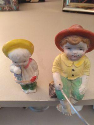 Two vintage porcelain figurines for Sale in Rockville, MD