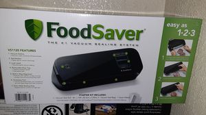 Food saver vacuum sealing system with bags for Sale in Pico Rivera, CA