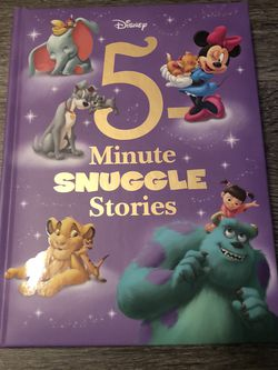 Disney 5 Minutes Snuggle Stories Kids Book for Sale in Rochester,  MI