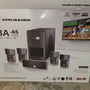 BerlinAudio Home Entertainment System for Sale in Mesquite, TX