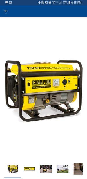 Champion generator for Sale in San Francisco, CA