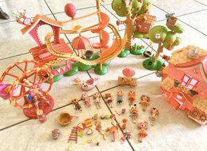 Lalaloopsy Play Sets with Dolls and Accessories for Sale in Fontana, CA