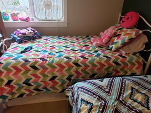 Twin bed frame and mattress for Sale in Forest Grove, OR