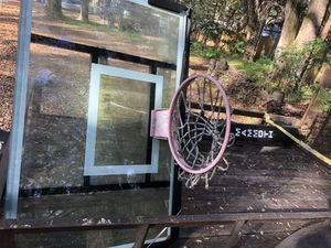 Mammoth basketball hoop for Sale in Lutz, FL