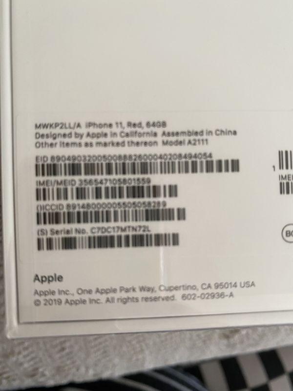 iPhone 11 64gb Verizon only
