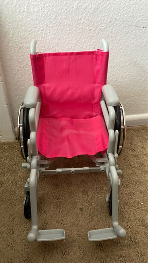 doll wheelchair. Works for American girl dolls for Sale in Anaheim, CA