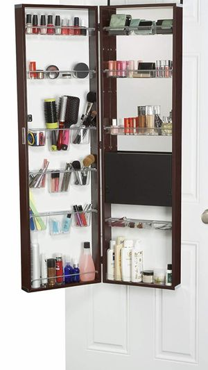 Wall Mounted Mirrored Makeup/Beauty Armoire!!! for Sale in Norwalk, CA