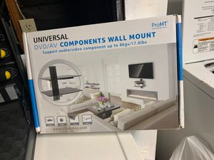 Universal DVD/AV COMPONENTS WALL MOUNT for Sale in San Diego, CA