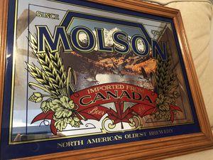 Vintage Molson Beer Sign for Sale in Denver, CO