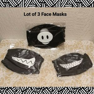 LOT OF 3 NEW FACE MASKS for Sale in Ontario, CA