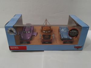Disney Pixar Cars 2 Secret Agents 3pc Set for Sale in Santa Ana, CA