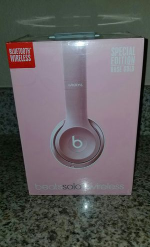 Beats Solo 2 Wireless Bluetooth, Brand new, never used. Amazing sound, Great price. for Sale in Phoenix, AZ