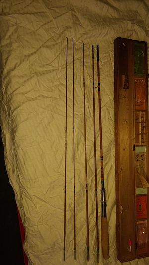 Fishing bamboo fly rod for Sale in Denver, CO