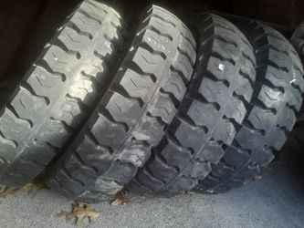 8.25-15 solid forklift tires blow out pricing for Sale in Hampton,  NH