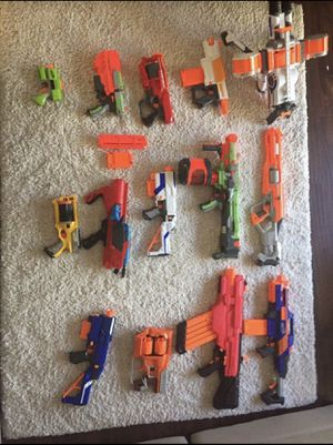 Nerf guns (Willing to trade for PS4 or Xbox one) for Sale in Sacramento, CA