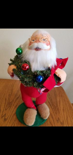 """Annalee Dolls 18"""" Santa Claus wearing glasses & slippers for Sale in Anaheim, CA"""