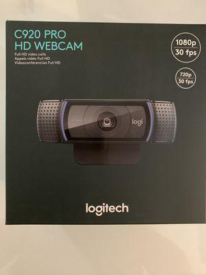 Logitech c920 webcam for Sale in Santa Ana, CA