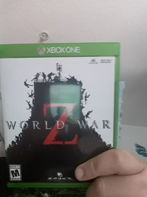 World war z xbox one for Sale in Lutz, FL