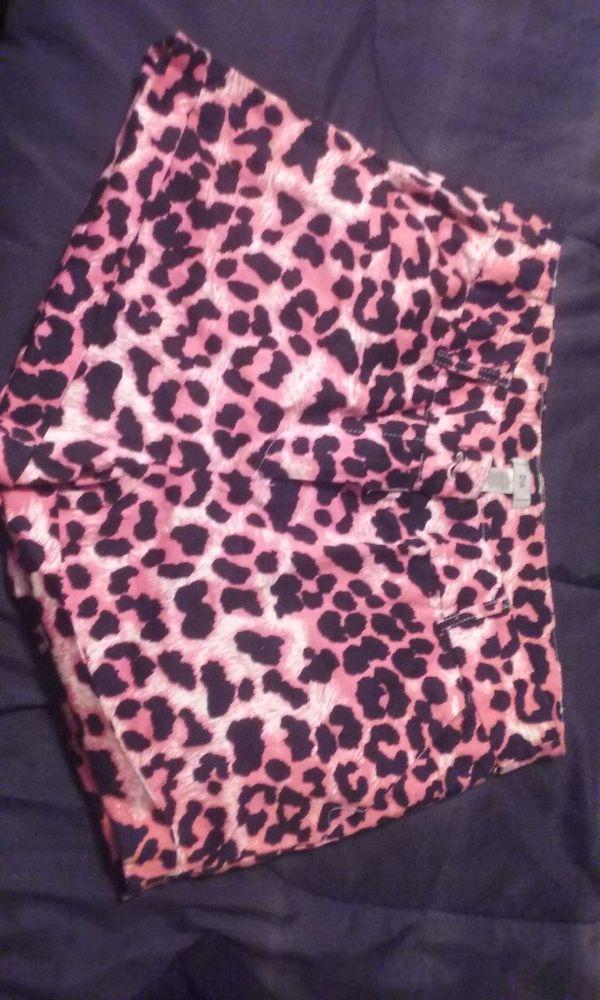 Pink Cheetah shorts