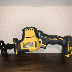 DEWALT ATOMIC COMPACT RECIPROCATING SAW - ( NO BATERY NO CHARGER ) for Sale in Dallas, TX