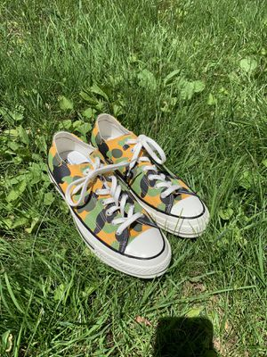 Yellow Camo Converse All Star Size 9.5 M 🍍✨ for Sale in Cleveland, OH