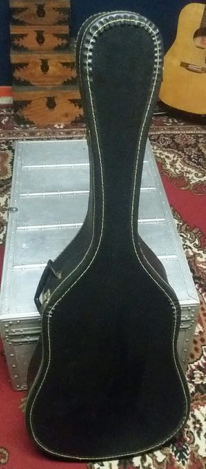 Acoustic Guitar Case Black Chipboard for Sale in Minooka, IL