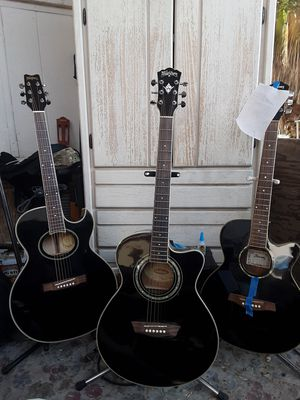 3 Black ACE 2 washburn & Ibanez for Sale in Perris, CA
