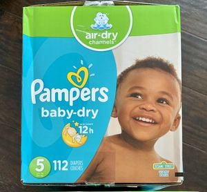 Pampers diapers size 5 for Sale in Long Beach, CA