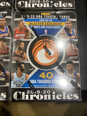 2019-20 Panini NBA Chronicles Basketball Sealed Blaster Box's for Sale in Silver Spring, MD