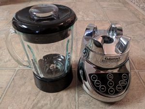 Cuisinart Smartpower Duet /Food Processor 7 Speed Blender Brushed Chrome (BFP-703BC) for Sale in Woodinville, WA