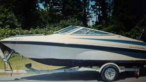 1997 Crownline Bowrider with Trailer for Sale in Evansville, IN