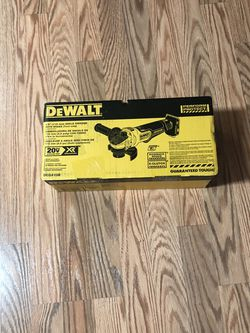 DeWalt 20-Volt MAX XR Cordless Brushless 4-1/2 in. Paddle Switch Small Angle Grinder with Kickback Brake (Tool Only) for Sale in Portland,  OR
