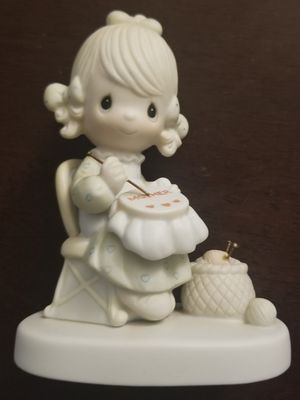 Precious Moments Johnathan David Mother Sew Dear Figurine from 1979 for Sale in Spring Valley, CA