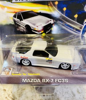 Initial D : Mazda RX-7 FC3S | 1:64 Scale Diecast Collection | Jada Toys for Sale in Seattle, WA