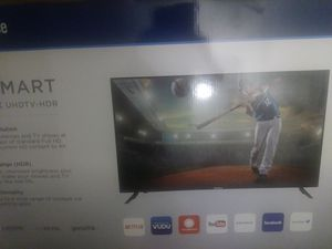 50 inch tv Westinghouse smart tv 4k hdr for Sale in Pittsburgh, PA