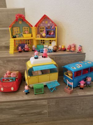 Peppa pig toys $50.00 all for Sale in Riverside, CA