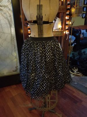 New tulle star black skirt Witch Small Med Large for Sale in Whittier, CA