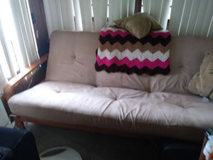 Futon with new mattress for Sale in Frostproof, FL