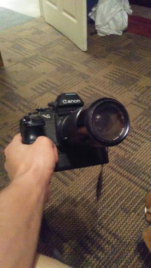 Canon F-1 with extra lenses for Sale in Chicago, IL