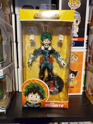 My Hero Academia Izuku Midoriya Full Cowl McFarlane Toys Figure for Sale in North Bergen, NJ