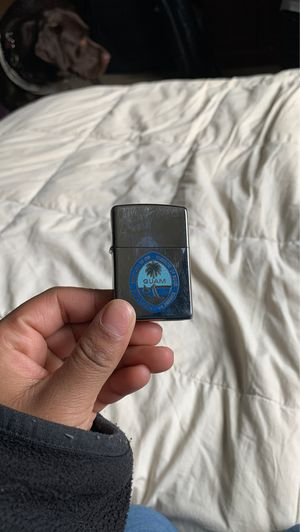 Zippo Lighter with Guam Seal for Sale in Tacoma, WA