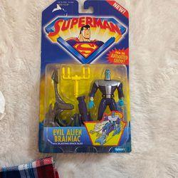 Superman Evil Alien Brainiac Action Figure Kenner 1996 for Sale in Bellevue,  WA