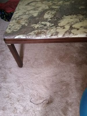 Italian marble top coffee table 40x40 for Sale in Alexandria, VA