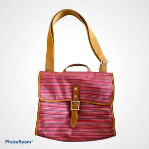 Fossil Multicolor striped crossbody messenger bag for Sale in Washington, DC