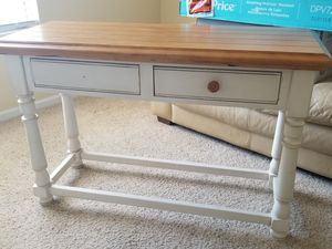 Antique white/brown table for Sale in Jacksonville, FL