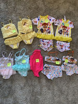 Toddler girls swim suits for Sale in Scottsdale, AZ