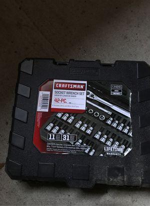 Craftsman socket set for Sale in Redgranite, WI