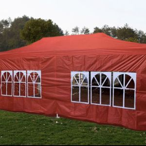 10x20ft Pop Up Canopy Tent With Side Walls - Available In Different Colors for Sale in Pomona, CA