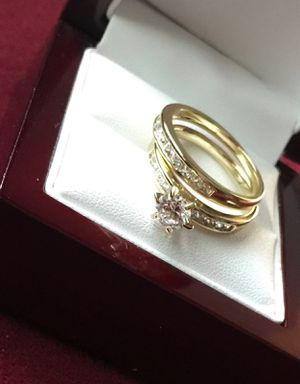 GOLD PLATED WEDDING RING for Sale in Los Angeles, CA